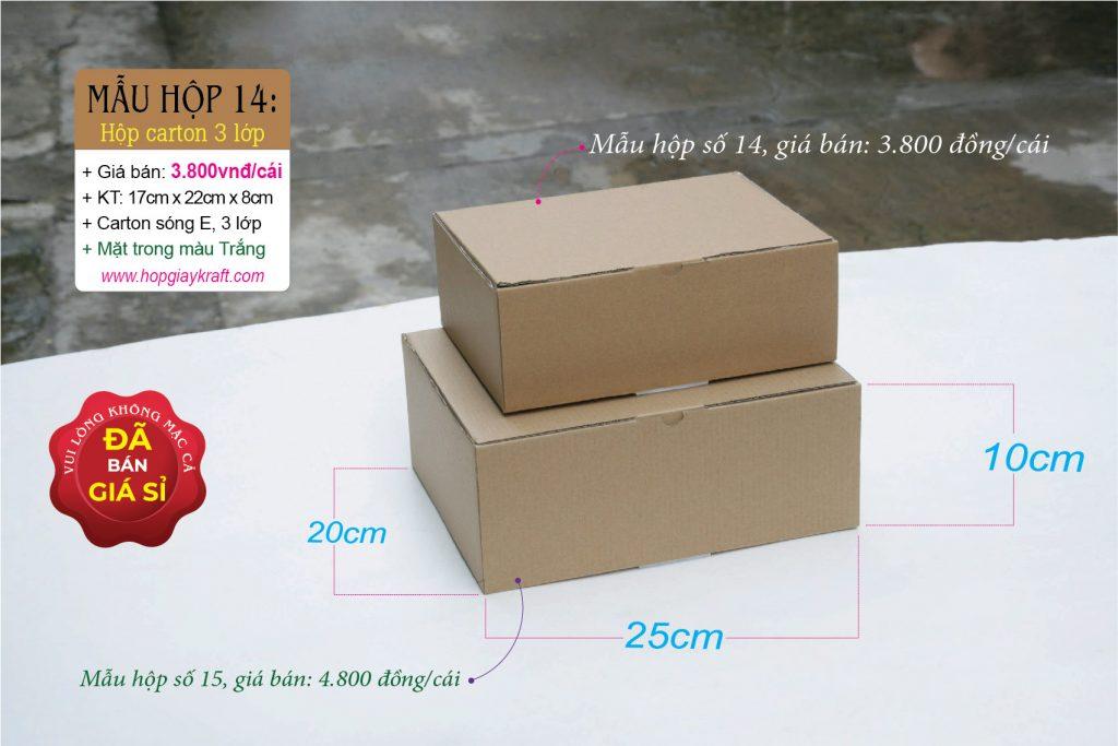 Hộp giấy carton 3 lớp