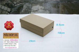 Hộp giấy carton đựng giày Nam Nữ