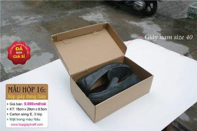 Hộp đựng giấy giày Nam