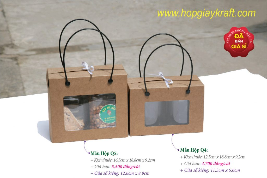 Food kraft paper boxs